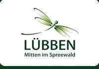Libelle - Wahrzeichen von Lübben im Spreewald
